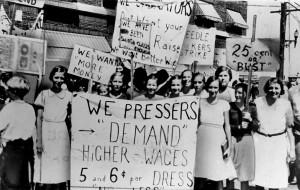 Historic photo via Cornell University Kheel Center.