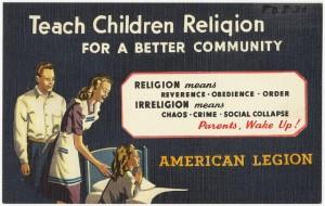 Teach Children Religion via Boston Public Library