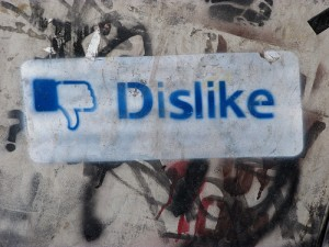 Facebook Dislike photo via Flickr