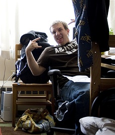 Many college students are opting for single rooms to avoid dealing with awkward roommates. Photo by Katie Brady via flickr.com