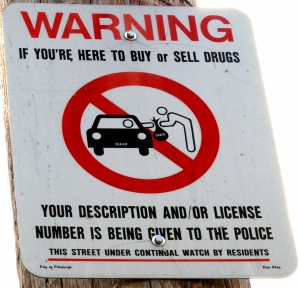 "Picturing the War on Drugs in Pittsburgh. Photo by Christopher ""Rice"" via flickr CC."