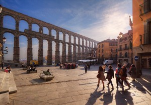 The aqueducts in Segovia were one solution to Spain's need for water. But they're not the only one. Photo by Paulo Guerra via Flickr.