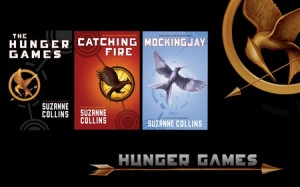 The Hunger Games Trilogy by Suzanne Collins. Image via Marci's Blog.