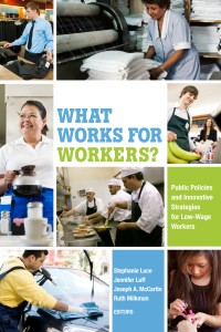 "This co-edited volume considers ""Public Policies and Innovative Strategies for Low Wage Workers."""