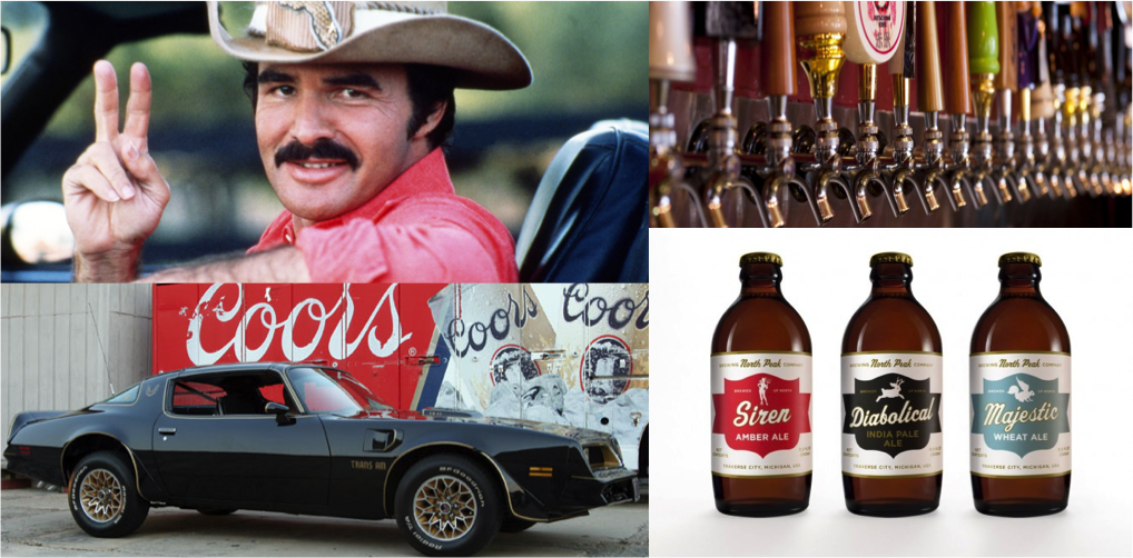 There was a time when Coors was the contraband. Nowadays, Bandit'll be hauling some Surly Furious.