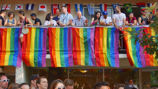 "In 2013, Kaiser Permanente, the country's largest non-profit health system, was a silver sponsor for Capital Pride DC. The healthcare provider invited ""the community of allies for LGBTI health"" to celebrate. Ted Eytan//Flickr CC"