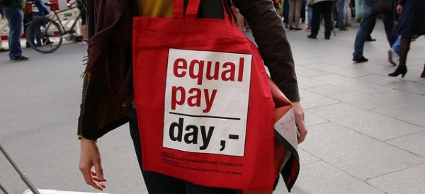 Equal Pay Day is marked around the world as the day on which women have officially made as much as their male peers did in the previous year. This year's was April 12, 2016 in the U.S. Photo by metropolica.org, flickr.com