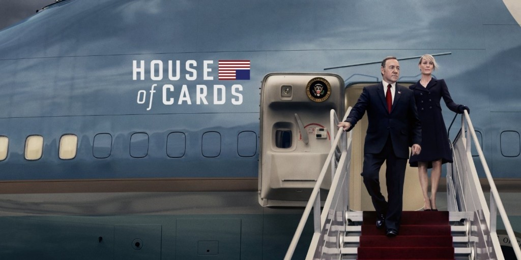 Frank and Claire Underwood House of Cards Promo