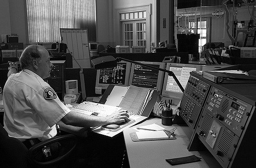911 Call Center in Seattle. Photo by Seattle Municipal Archives, Flickr CC
