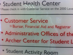 "RPI's financial services is actually called ""customer service"""