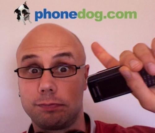 Kravitz promoting Phonedog.com