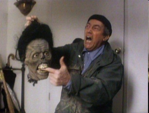 Losing a finger but gaining a laugh in Return of the Living Dead 2 (1988).