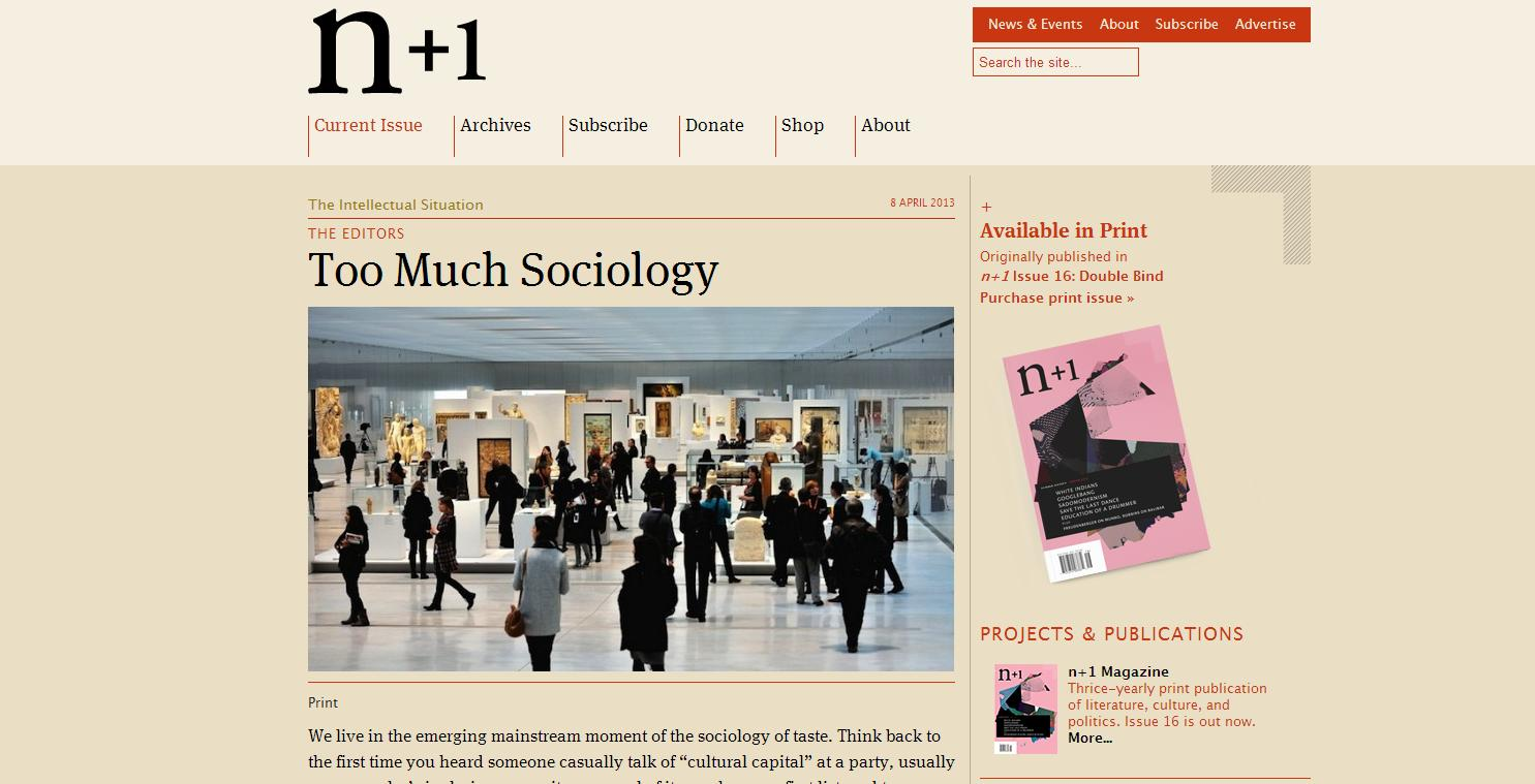 Sociology top10