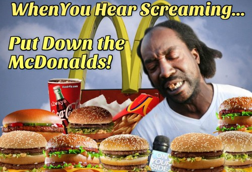 put down the mcdonalds