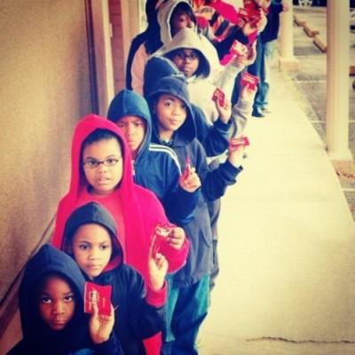 Children as Trayvon Martin