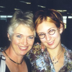 Author and her mother, 1998