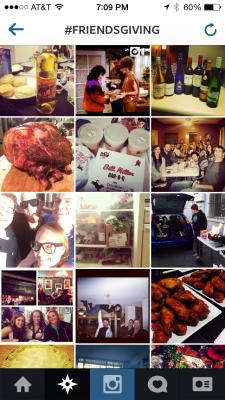 #Friendsgiving on Instagram