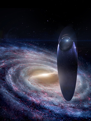 Ship of the Imagination from Fox's rebooted Cosmos with Neil Degrasse Tyson