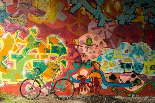 A Budnitz Bike in its natural habitat.