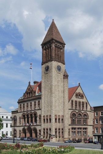 The Albany New York Town Hall