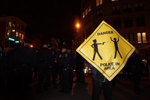 Ferguson Protest, NYC 25th Nov 2014