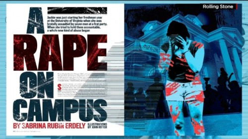 rape on a college campus
