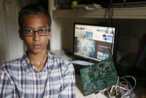 Ahmed Mohamed, 14. Photo: Vernon Bryant, Dallas News.