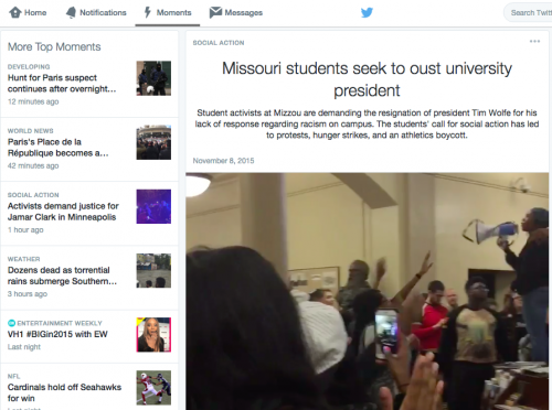 Twitter's curated Moments offer a convenient but shallow glimpse at the story
