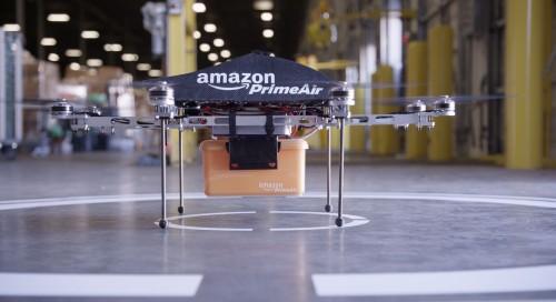 An Amazon Prime Air Drone