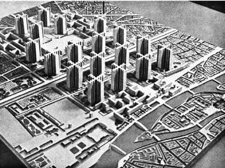Le Corbusier's La Ville Radieuse