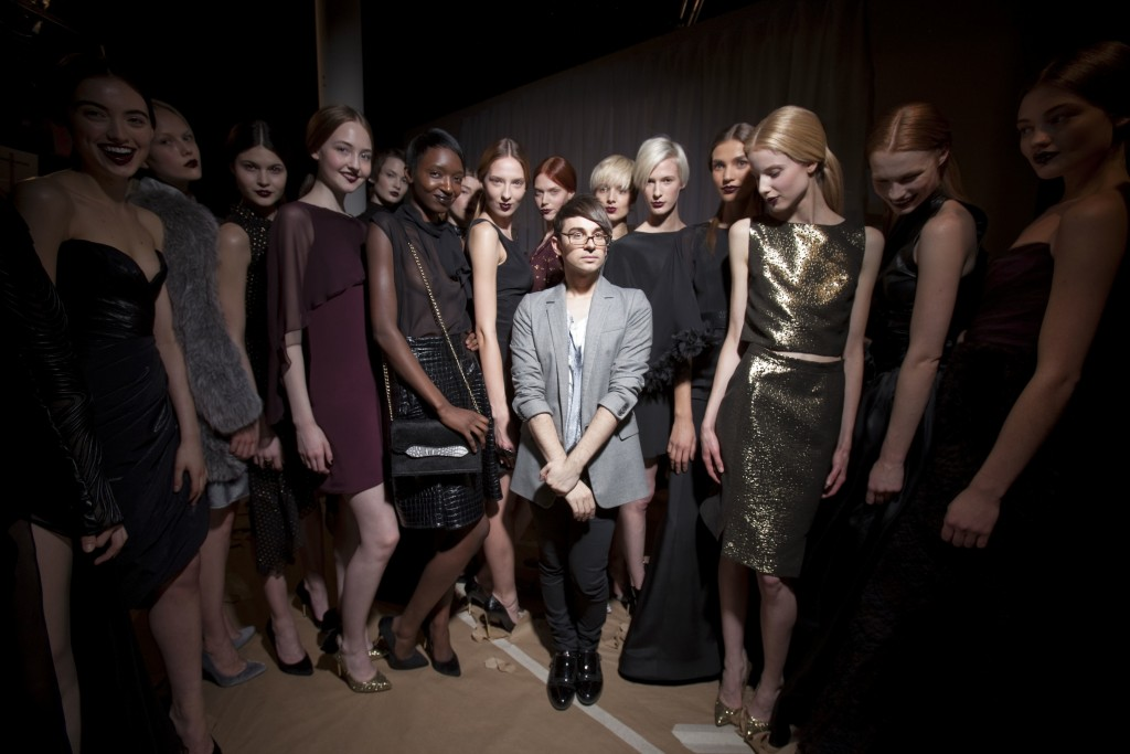 A Project Runway winner, Christian Siriano has gone on to fashion acclaim. Photo via NolitaHearts.com.