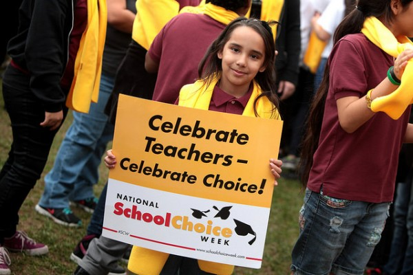 Arizona School Choice Rally Photo by Gage Skidmore, Flickr CC. flic.kr/p/q3nYAc