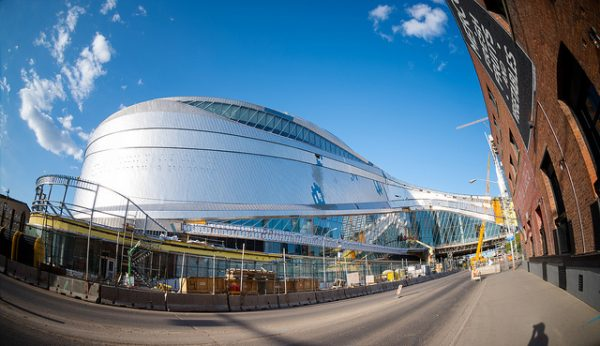 The new arena, Rogers Place. Photo by Kurt Bauschardt, Flickr CC
