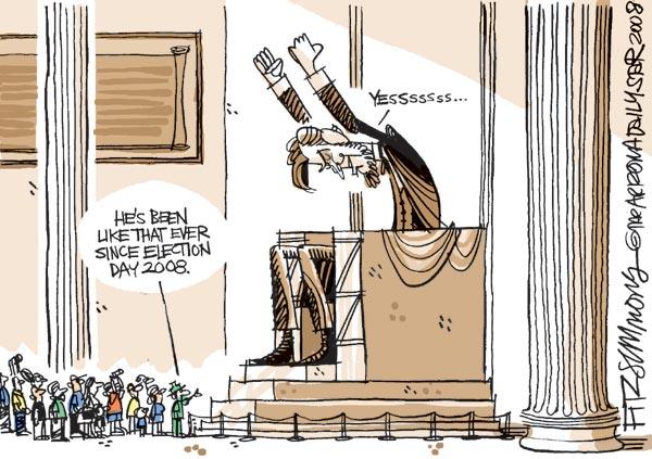 David Fitzsimmons, Tucson Daily Star, 5 November 2008