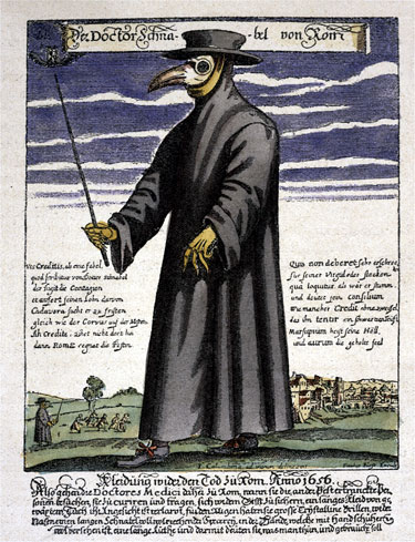the plague doctor.