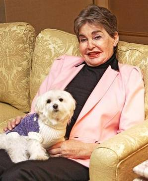 Leona Helmsley and Trouble: a modern Rhodope and Stephanos?