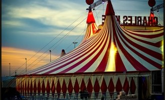 Circus Tent by Thomas Totz via flickr.com