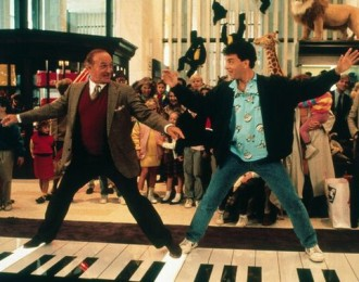 """Growing up too fast and growing up too slowly have long since been questioned. Tom Hanks in """"Big."""""""