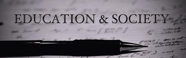 Education & Society - The Editors' Desk