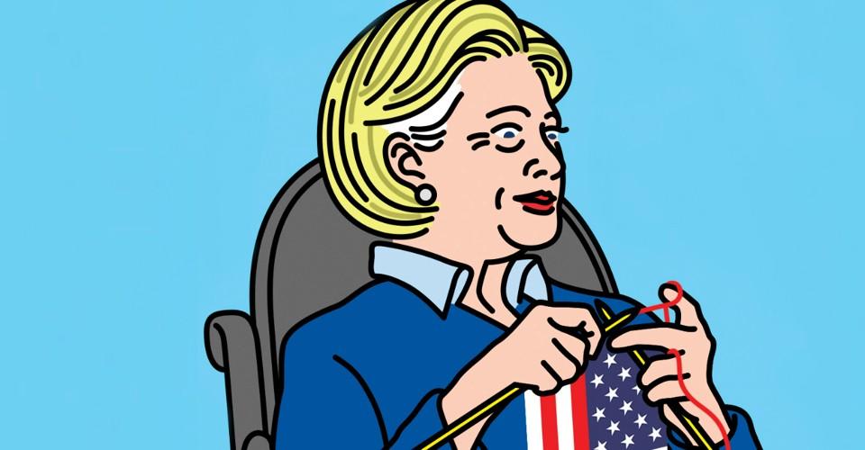 Edmon de Haro's Atlantic.com depiction of Clinton's age advantage.