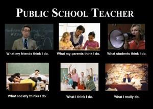 public school teacher meme