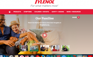 Tylenol's videos are here.
