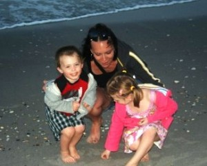 A time of calm with my children during a difficult time.