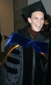 "Hooded as ""PhD""!"