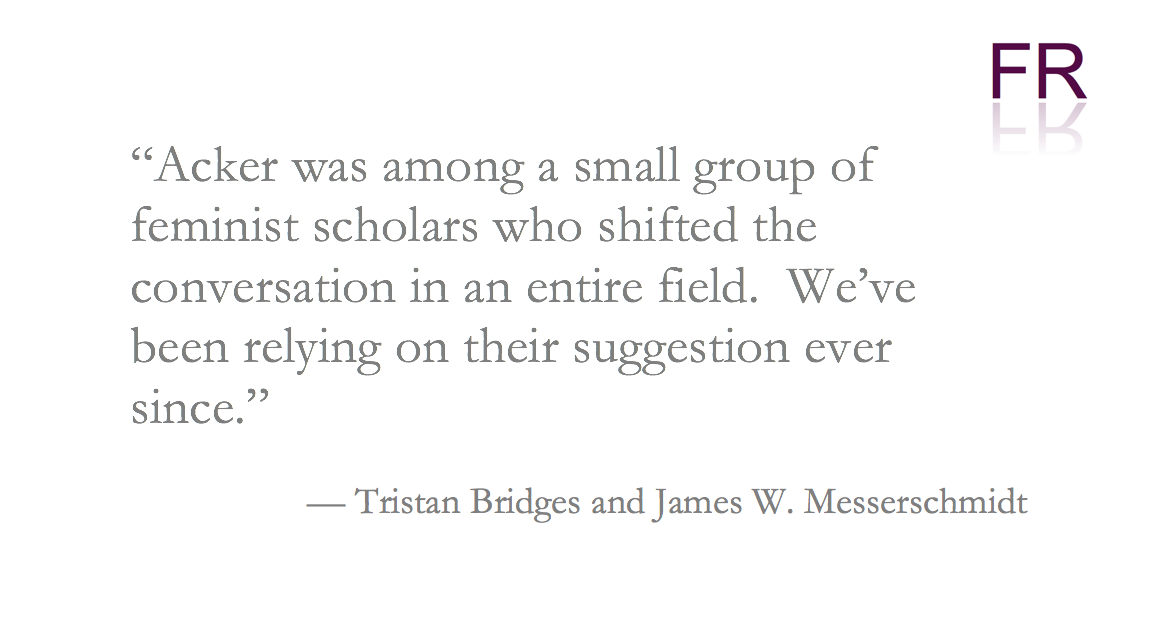 Bridges and Messerschmidt quote