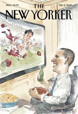 New Yorker Cover by Barry Blitt