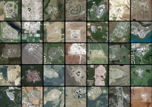 Aerial photos of American prisons, compiled by Josh Begley at prisonmap.com.