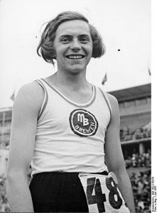 Hermann (Dora) Ratjen in a photo from the German Federal Archives.