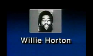 "A still from the famous 1988 ""Willie Horton"" ad that painted Democratic presidential candidate Michael Dukakis as soft on crime."