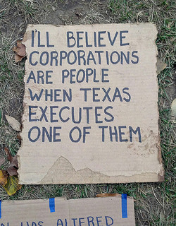 corporations are people photo by Jim Kuhn via flickr.com